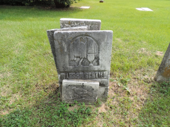 C:\Users\Vern\Pictures\Historical\Fort Hill Cemetery\2018-08-27 Fort Hill Cemetery Headstones\Scovill, Warren R08-040 4265.JPG