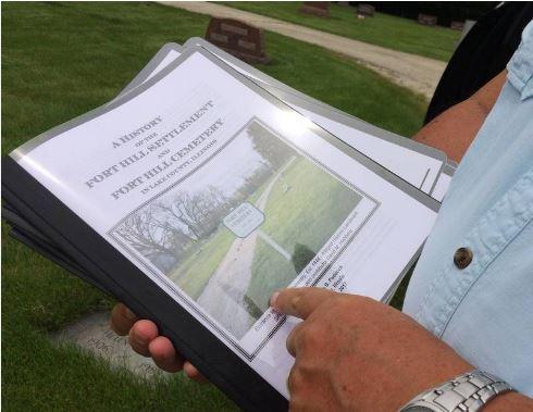 2018-06-18 Fort Hill Cemetery Daily Herald newspaper 03.JPG