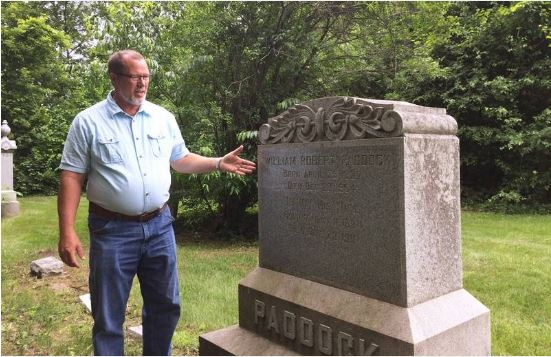 2018-06-18 Fort Hill Cemetery Daily Herald newspaper 01.JPG