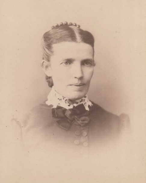 Sophia Thompson Kapple at Waukegan, Lake, Illinois in 1884