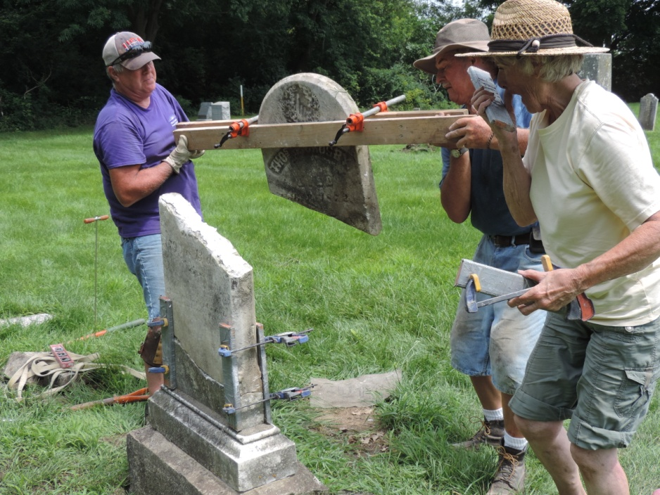 C:\Users\Vern\Pictures\Historical\Fort Hill Cemetery\2019-07 Fort Hill Cemetery gravestone preservation\2019-07-26 DSCN5519.JPG
