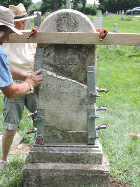 C:\Users\Vern\Pictures\Historical\Fort Hill Cemetery\2019-07 Fort Hill Cemetery gravestone preservation\2019-07-26 DSCN5523.JPG