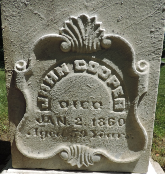 C:\Users\Vern\Pictures\Historical\Fort Hill Cemetery\COMBINED FORT HILL PHOTOS\Fort Hill gravestone symbols\Shield - John Cooper.jpg
