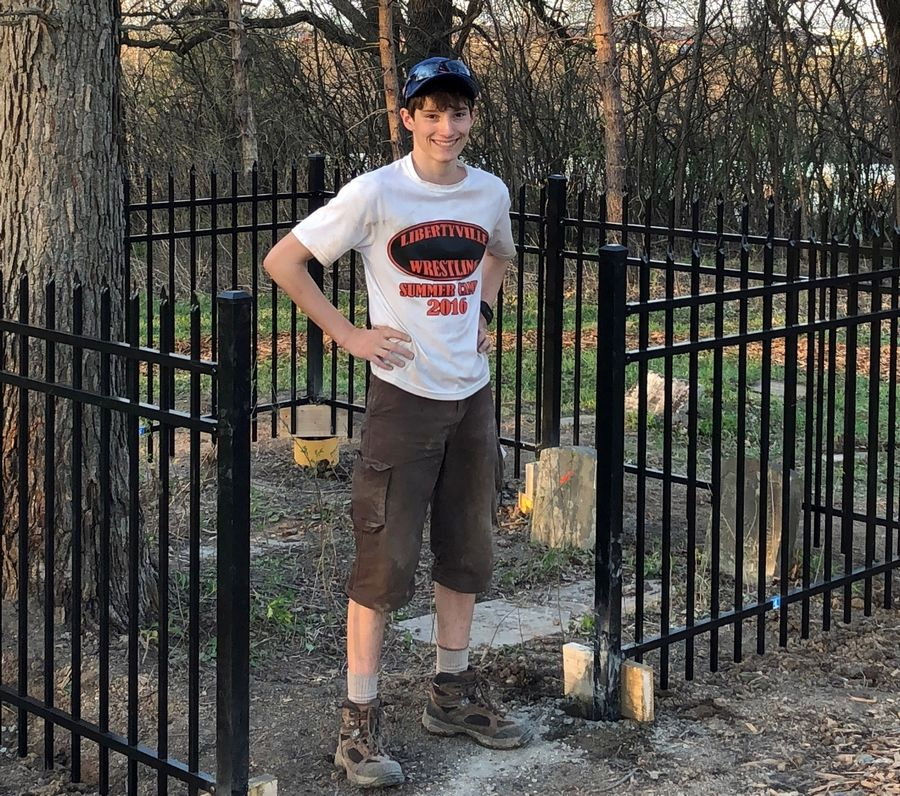 On Memorial Day, 16-year-old Eagle Scout candidate Thomas McGormley, who has worked doggedly to clear and renew the site, will be joined by fellow Scouts and others to honor the fallen as the culmination of a long and arduous enterprise.