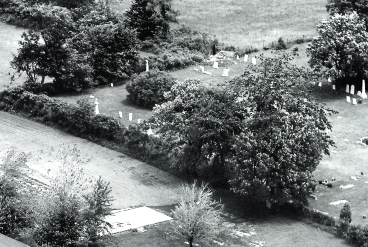 1965 Fort Hill Cemetery Vintage Aerial original edit.jpg